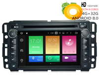 HIRIOT Car Android 8.0 DVD GPS Player For GMC Yukon Tahoe Chevrolet suburban Traverse Buick IPS Octa Core 4G RAM 32G ROM 16G Map