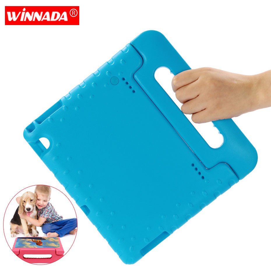 <font><b>Kids</b></font> <font><b>case</b></font> for Huawei Mediapad T5 10 <font><b>10.1</b></font> Inch <font><b>tablet</b></font> hand-held Non-toxic EVA full body cover for Huawei Honor <font><b>Tablet</b></font> 5 <font><b>case</b></font> image