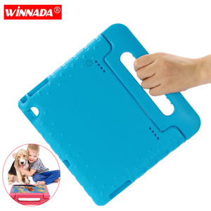 Kids case for Huawei Mediapad T5 10 10.1 Inch tablet hand-held Non-toxic EVA full body cover for Huawei Honor Tablet 5 case(China)
