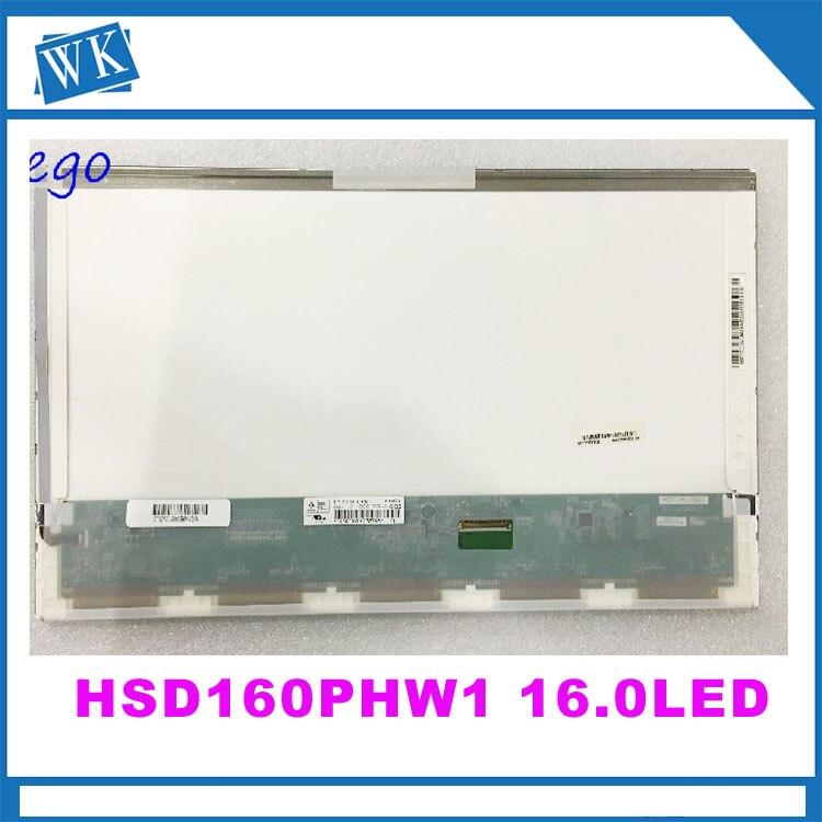 Free Shipping LTN160AT06 HSD160PHW1 16.0 Laptop LCD Display Panel for ASUS N61VG N61J X66IC hsd160phw1 hsd160phw1 b00 ltn160at06 16 led for asus n61 n61vg n61jv for hp dv6 cq61 laptop lcd led screen display matrix