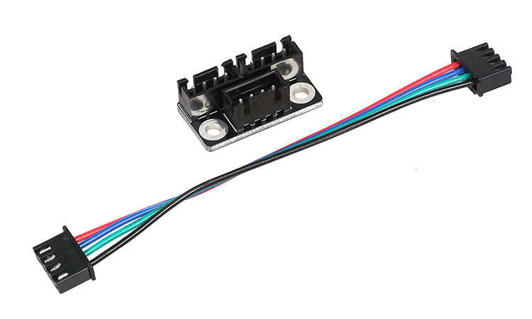 Dual Z Stepper Motor Adapter Parallel Module Stepping Motor Diverter Expanding Flow Board Diffuser Spreader Splitter 2pcs/kit