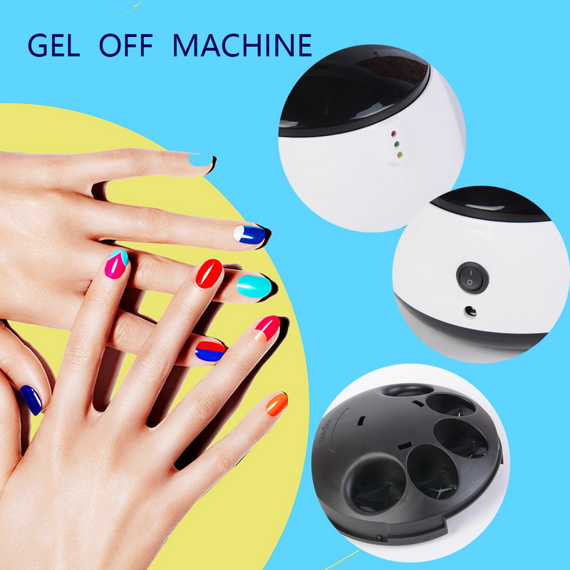 Manooby Nail Gel Polish Remover Machine UV Nail Gel Removal Steamer Art Salon Tool Nail Remover for Beauty Polish Nail CleanerManooby Nail Gel Polish Remover Machine UV Nail Gel Removal Steamer Art Salon Tool Nail Remover for Beauty Polish Nail Cleaner