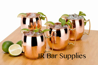 4 PCS Free Shipping Moscow Mule Copper Plated Mug / Cup, 18 Ounce, Set of 4