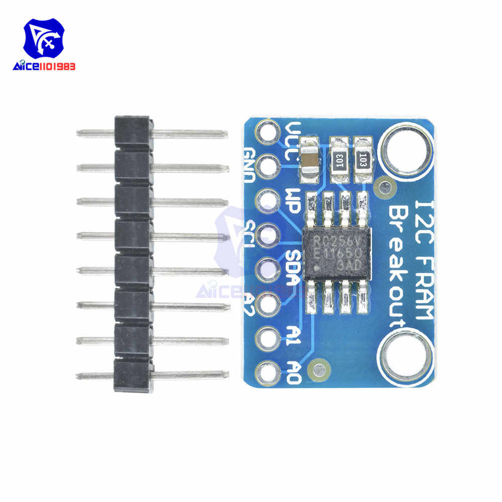 NEW I2C MB85RC256V Non-Volatile Fram Breakout Module Development 256KBit//32KByte
