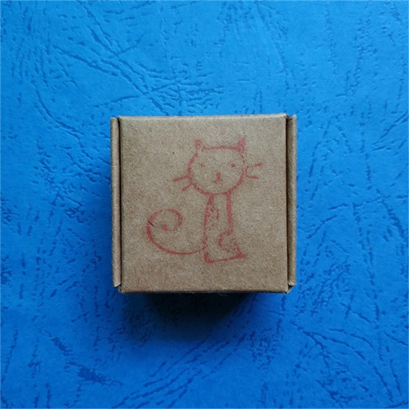 28 31mm Cute Cat Handmade Resin Soap Stamp Homemade Tools DIY Sugarcarft Candy Candle Stamp Soap Making Kits in Soap Making Kits from Home Garden