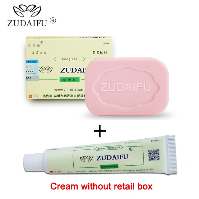 Zudaifu גופרית סבון קרם עור טיפול אנטיבקטריאלי אקנה פסוריאזיס סבוריאה אקזמה אנטי הפטרייה אמבטיה הלבנת שמפו
