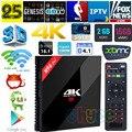 H96 Pro plus 2g 16g Octa Core Android 6.0 TV Amlogic S912 CAJA de 2.4G/5 GHz Wifi 4 K HDR 100/1000 M LAN reproductor Multimedia Inteligente PK X92 X96