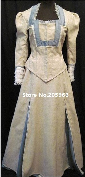 Free Shipping Scarlet Romance Novel Cover 1870s Victorian Bustle Gown Costume/Function Dress/Event Dress