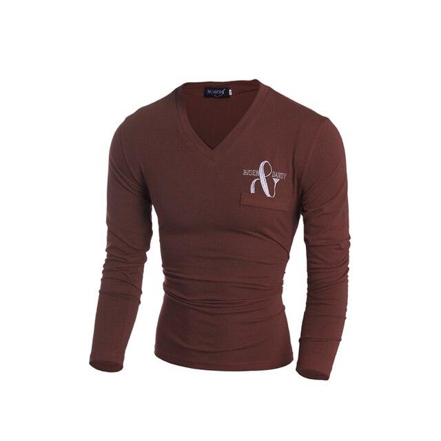 Nuevo 2017 hombres de la primavera marca de moda camisa de polo bordado de la letra sólido camisa de polo de los hombres ocasionales adelgazan fit de manga larga de polo de los hombres camisa