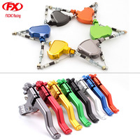 CNC Aluminum Motorcycle Motorbike Short Performance Stunt Cable Clutch Lever System Kit For Universal Street Bikes