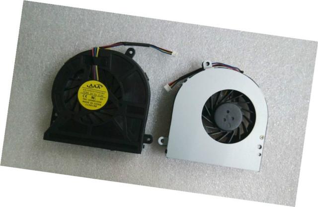 Genuine new frete grátis cpu ventilador de refrigeração para toshiba satellite c650 c660 f2037p 4pin ventilador de refrigeração da cpu