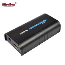 Mirabox HDMI Extender RX Receiver over cat5/cat5e hdmi extender support splitter and Maximum 253 receivers up to 120 meters