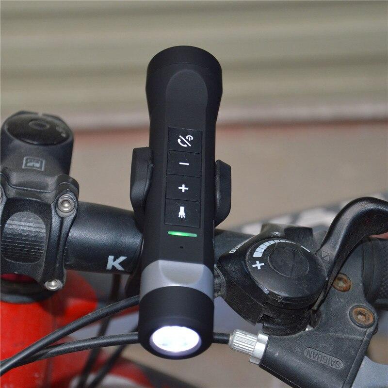 Newest Wireless Bluetooth Speaker Outdoor Sport 5in1 Multi-Function Flashlight Power Bank Speakers Handsfree Mic For Sport Bike