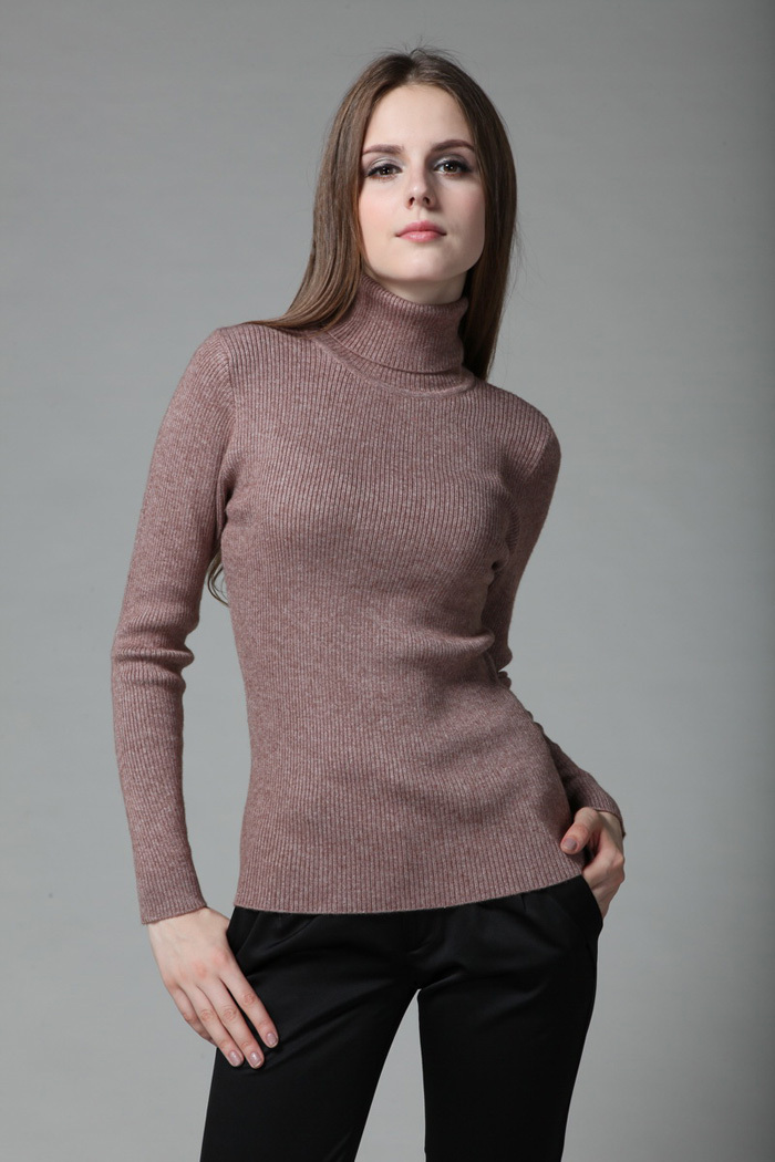 Free shipping 2016 Female sweater pullover cashmere sweater slim ...