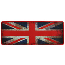 80*30 CM USA American Flag Print Fashion Anti-Slip World Map Speed Game Mouse Pad Gaming Mat for Laptop PC