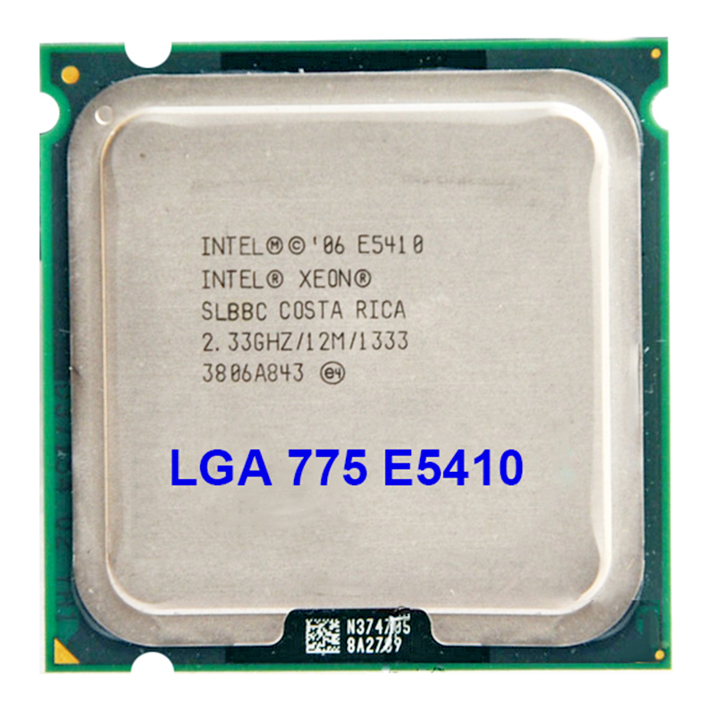 Original INTEL E5410 LGA 775 Processor (2.33GHz/12MB/1333MHz) Server CPU warranty 1 year