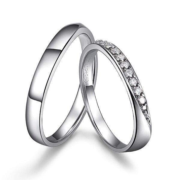 Gvbori Pt950 Perfekte Paar Diamant Verlobungsring Fur Frauen Mann