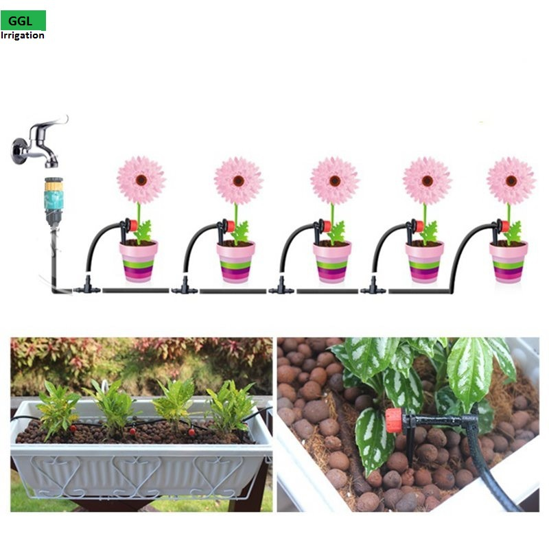 225 & New Easy Operation Home Garden Mini Watering Sprinklers Kits ...