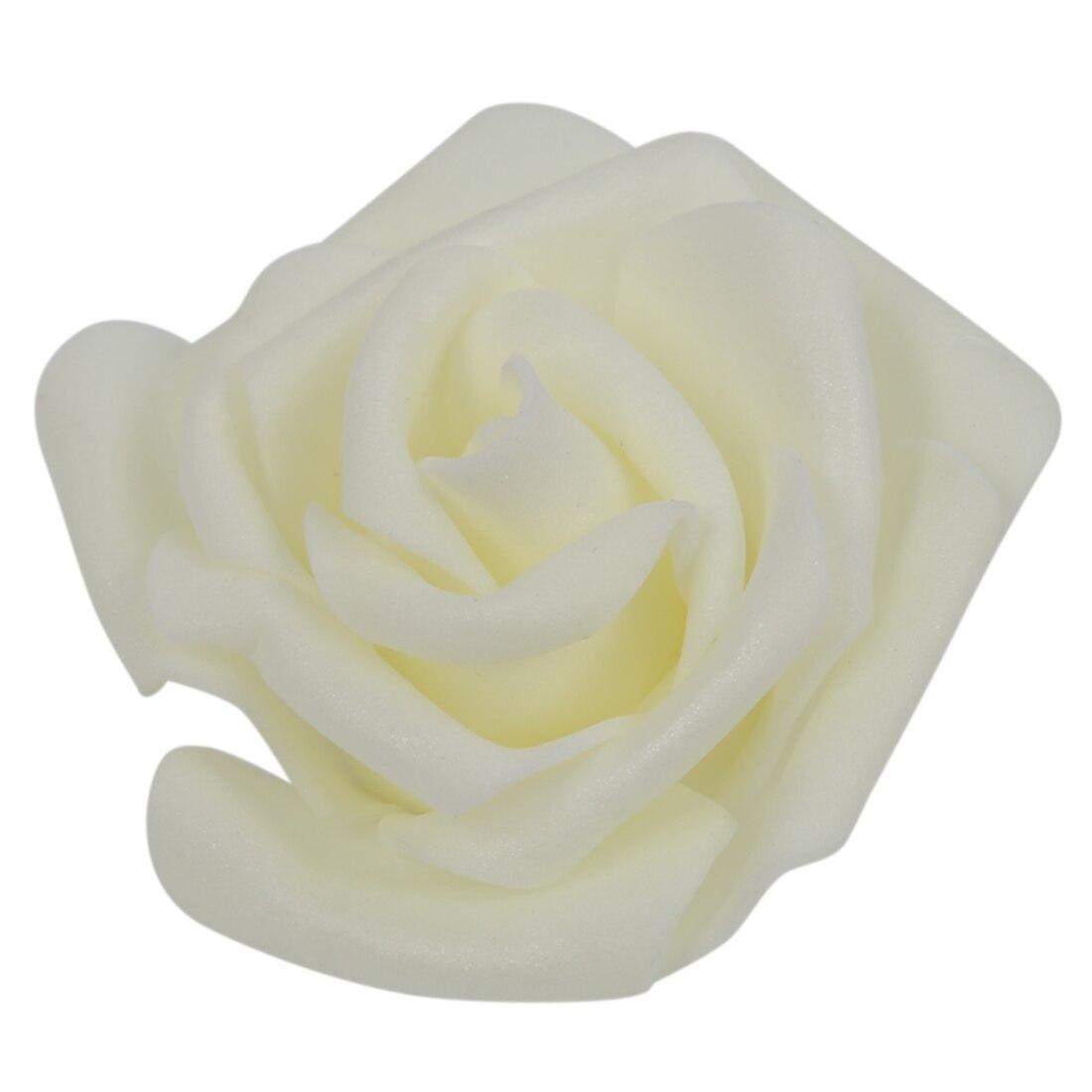 TFBC 100 PCS Mousse Rose Fleur Bourgeon De Mariage Parti Décorations Artificielle De la Fleur Diy Craft Crémeux 17 Couleurs