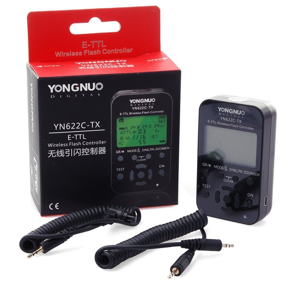 Yongnuo YN-622C-KIT YN622C-KIT Wireless i-TTL LCD Flash Trigger 1 x YN-622C- TX Controller + 1 x YN622C RX Transceiver For Canon настольная игра shantou gepai аэрофутбол 5016