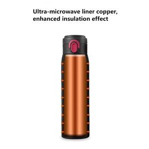 Image 4 - Viomi Tragbare Vakuum Thermos 300ML /460ml Leichten Legierung Material 24 Stunden Thermos Einzigen Hand AUF/Schließen
