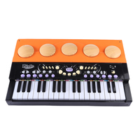 37 Keys Mini Wooden Vertical Piano Grand Musical Instrument Early Music Education Toys For Children Black