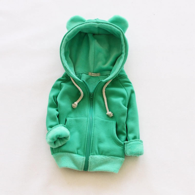 V-TREE Girls Jacket Coat Fleece Girls Hoodies Spring Autumn Kids Sweatshirt Warm Girls Tops Coat Zipper Clothes Baby Clothes цены