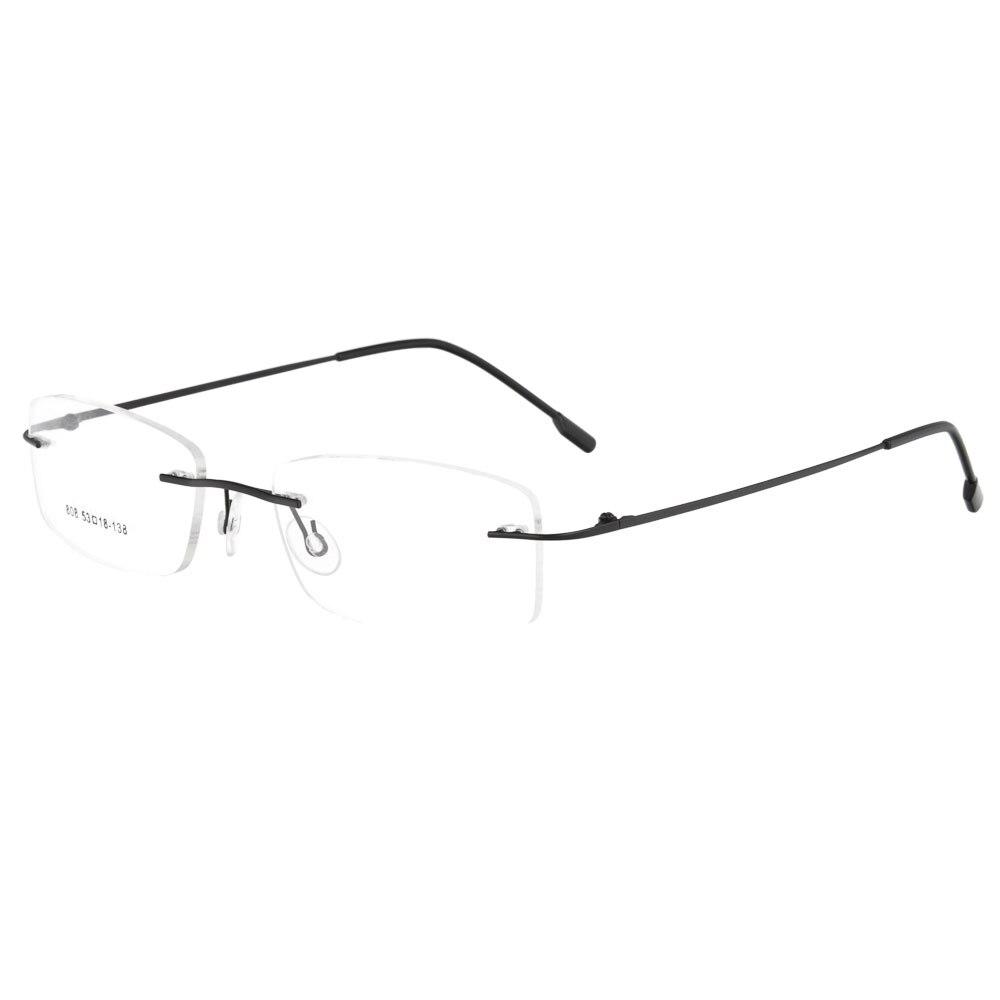 IL MIO DOLI Occhiali montature da vista in metallo di memoria senza montatura unisex incernierato 1 lotto 50 pz prezzo di fabbrica del commercio all'ingrosso 808