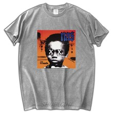 male top tees cotton t shirt brand new t shirt nas illmatic 20th anniversary t shirt(China)