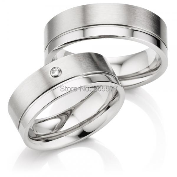 puro hecho a mano de regalo de boda de ajuste cmodo anillos de compromiso alianzas