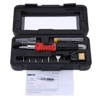 WSFS Hot Sale HS 1115K Professional Butane Gas Soldering Iron Kit Welding Kit Torch