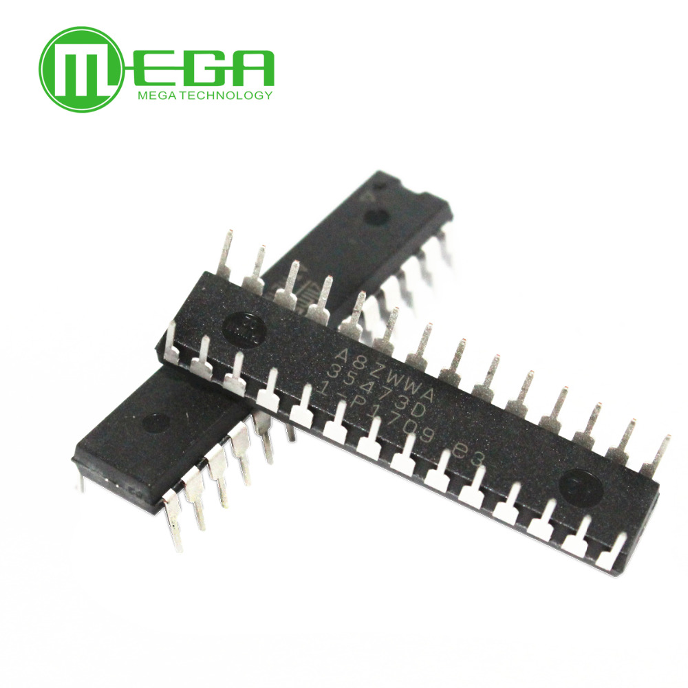 Original 10pcs ATMEGA328P PU ATMEGA328 Microcontroller DIP28-in Integrated Circuits from Electronic Components & Supplies