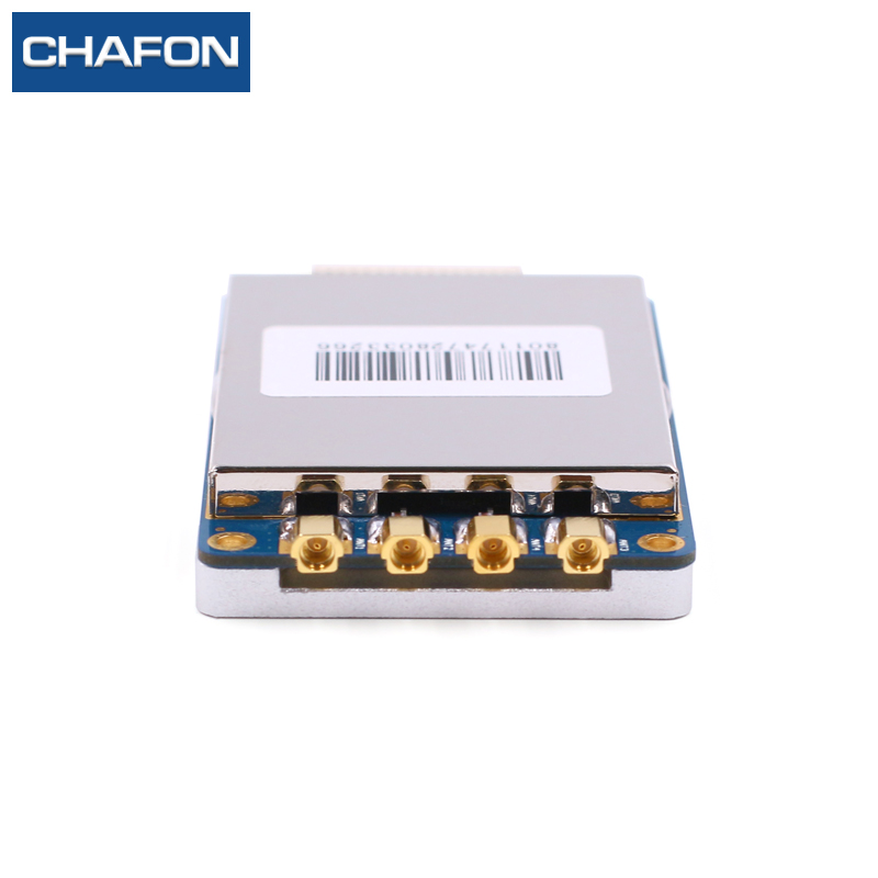 uhf rfid module R2000 chip smart card read module USB 2 0 RS232 interface with four