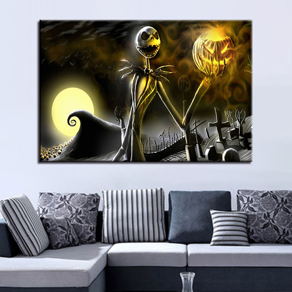 S2516 The Nightmare Before Christmas Jack Skellington Classic Wall ...