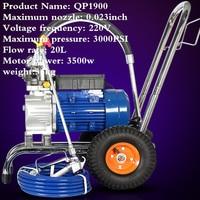 High pressure 1900 High Power High Pressure Airless Spraying Machine Latex Paint Waterproof Spraying