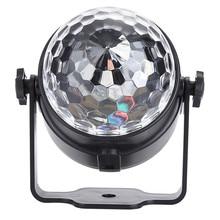 1Pcs Mini LED par light  colorful LED stage light for Home Entertainment music concert bar KTV disco effect lighting