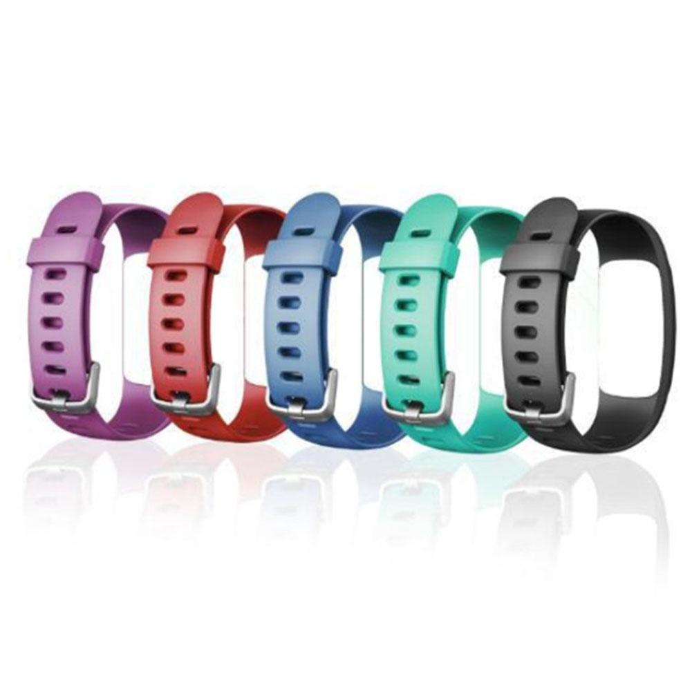 Silicone Smart Bracelet Adjustable Wristband Colorful Watchband Replacement Accessory For Fitness Tracker ID107 Plus HR-in Smart Accessories from Consumer Electronics