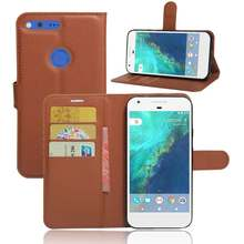 "YINGHUI Fundas For Google Pixel XL 5.5"" Phone Case Stand Magnetic Wallet Leather Flip Cover Bags Skin For Google Pixel XL Cases(China)"