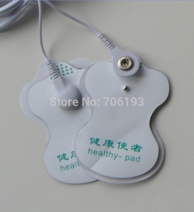 50pcs/lot health herald white Electrode Pads patch for ...