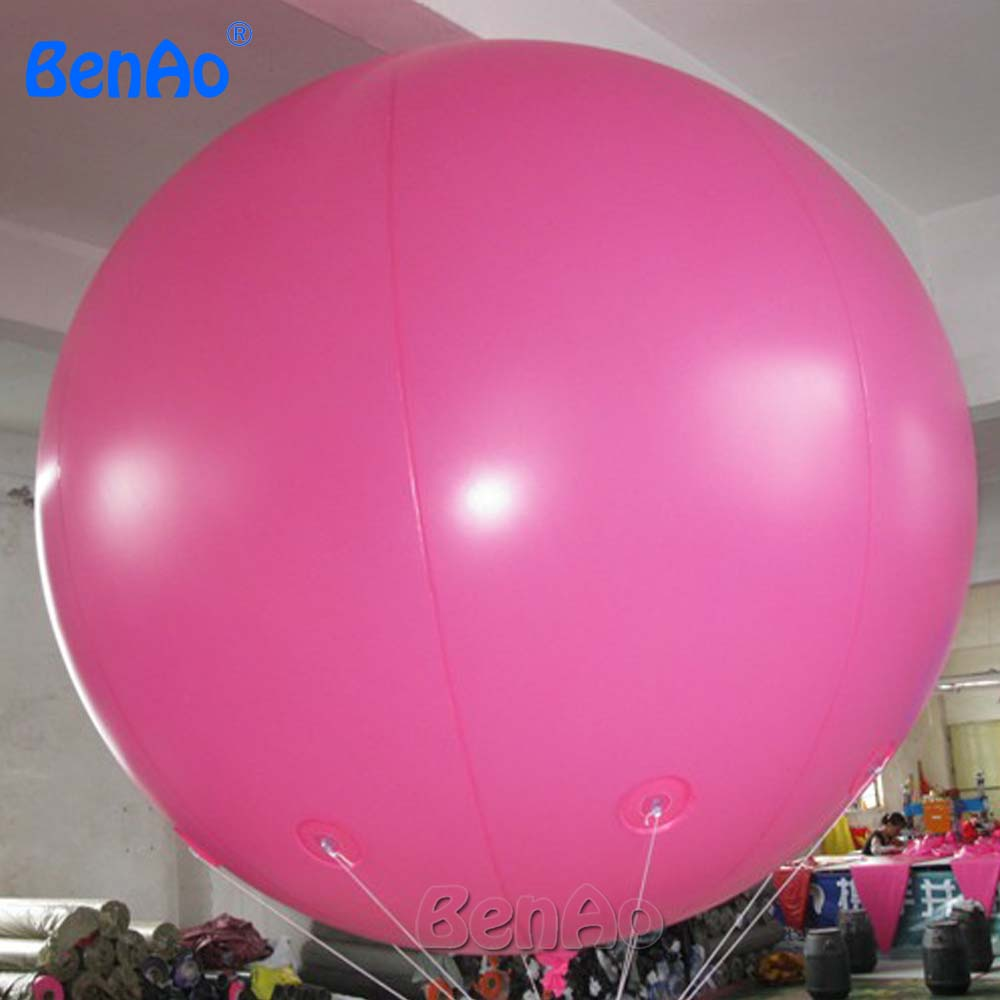 AO058J 2M hot selling inflatable advertising  Helium Balloon Ball PVC  helium balioon / inflatable sphere/sky balloon for sale