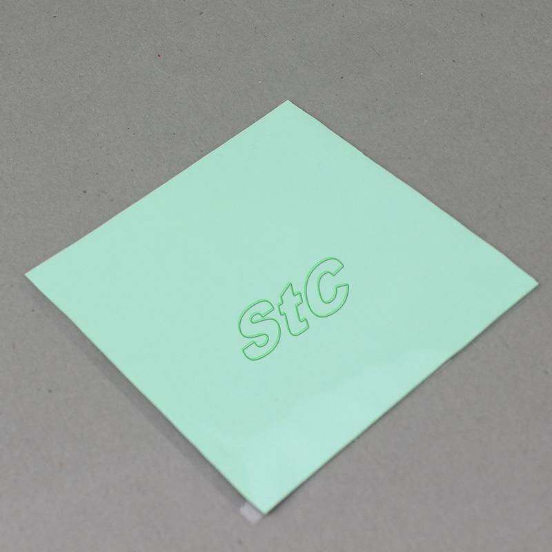 5Pieces LOT Green 100x1mm RAM Card IC Silicone Compound Conductive Thermal Pad Chip 100x100x1mm
