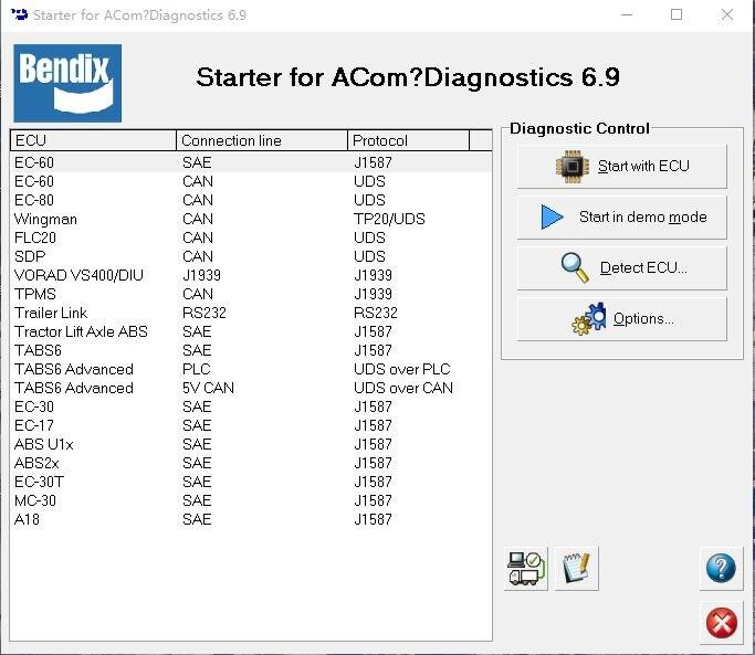 Promo Bendix ACom Diagnostic Software