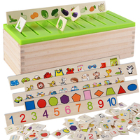 Baby Mathematical Knowledge Classification Toy Box Child Cognitive Matching Kids Learining Early Educational Toy