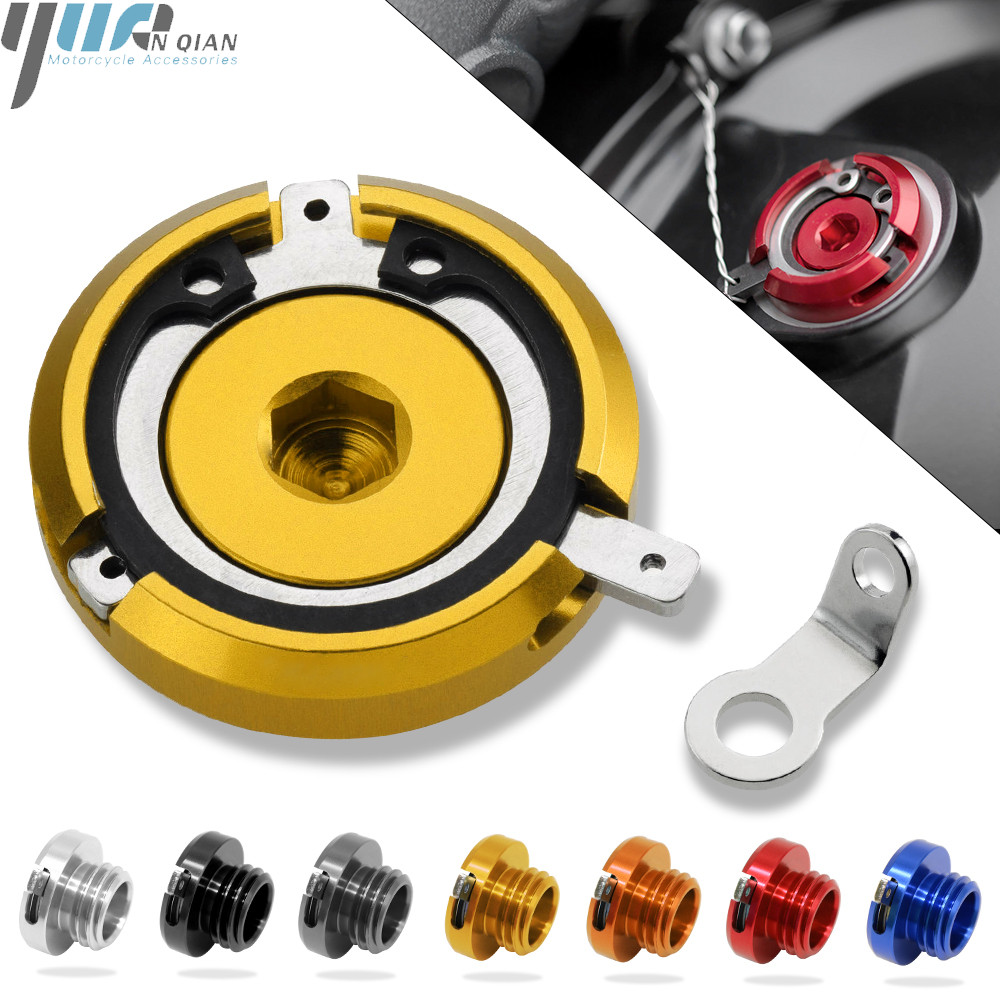 Image 3 - M20*2.5 Motorcycle Reservoir Engine Oil Filter Cover Cap For HONDA CB1000R 08 16 ST1300/ST1300A 2003 07 CBR125R 2005 SPORT 1000-in Covers & Ornamental Mouldings from Automobiles & Motorcycles