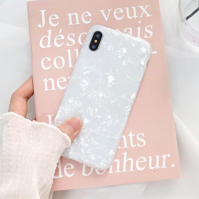 Luxury Glitter Phone Case For iPhone 7 8 Plus Dream Shell Pattern Cases For iPhone XR XS Max 7 6 6S Plus Soft TPU Silicone Cover 2