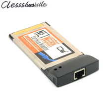 Network Ethernet RJ45 PCMCIA Cardbus Laptop/Notebook Expansion Card Adapter 100Mbps 54mm