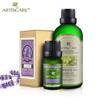 ARTISCARE Lavender Pure Essential oil + Jojoba Base Oil Powerful Fade Acne Marks High Efficiency Aromatherapy Massage Base Oils