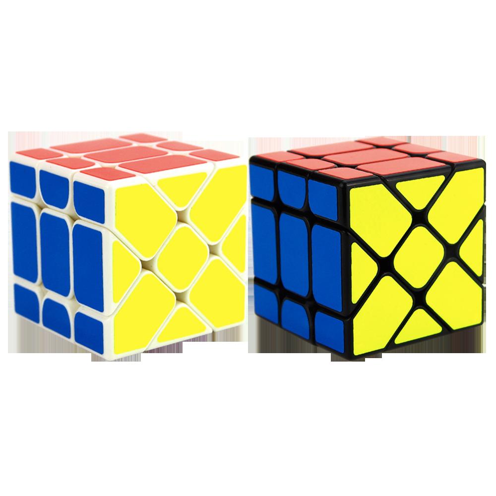 Original YongJun YJ Fisher Cube 3x3 YJ Yileng V2 Magic Cube Puzzle Cubes Educational Toys For Kids