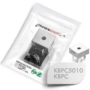 2 Pcs KBPC5010 Bridge Rectifier Diode 50A 1000V KBPC 5010 Single Phase Full Wave 50 Amp 1000 Volt Electronic Silicon