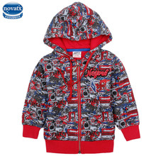 novatx A3463  kids wear baby winter hoodies coats fashion hoody boys wear high quality novatx kids coats children clothes coats